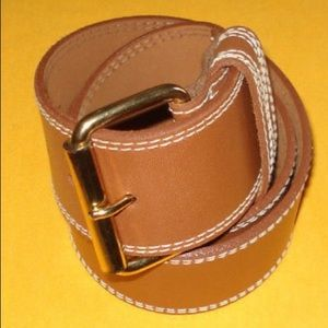 Ellen Tracey Genuine Leather belt
